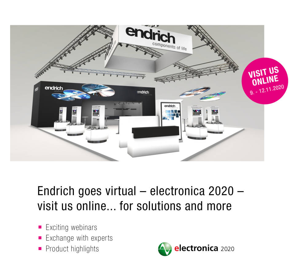 Our partner Endrich goes virutal – we too!