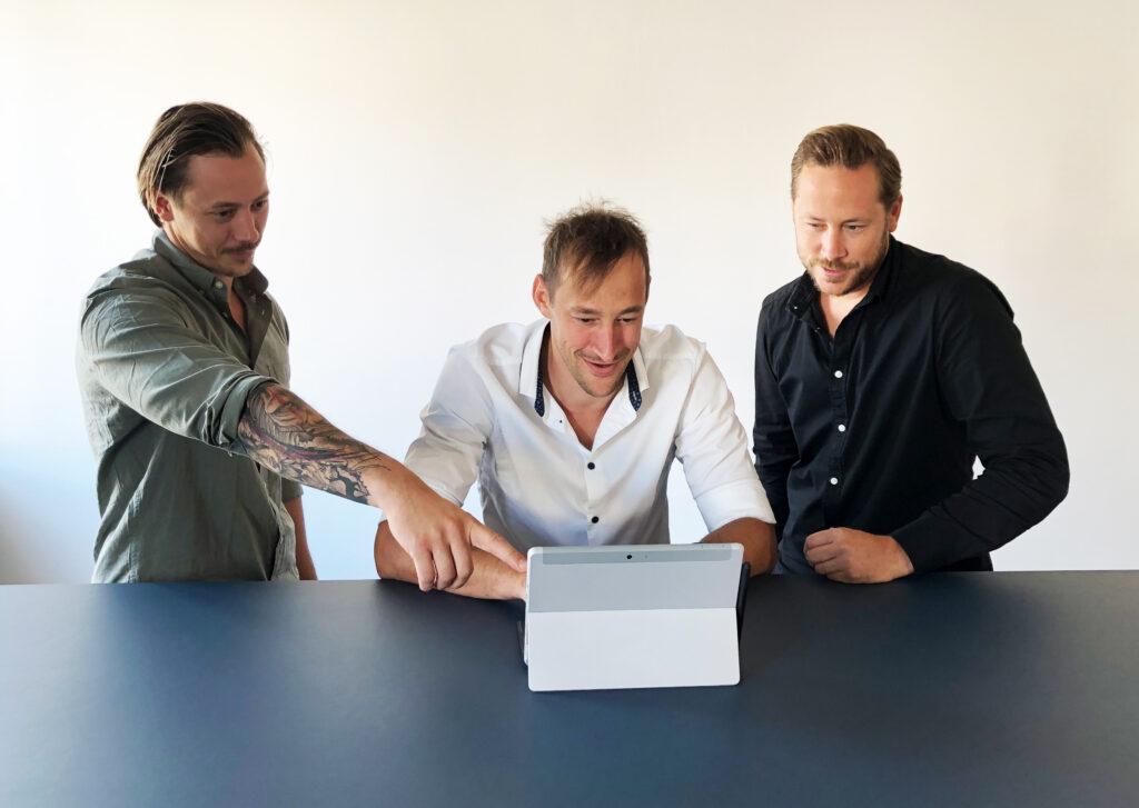 Drei Brüder mit einer Vision