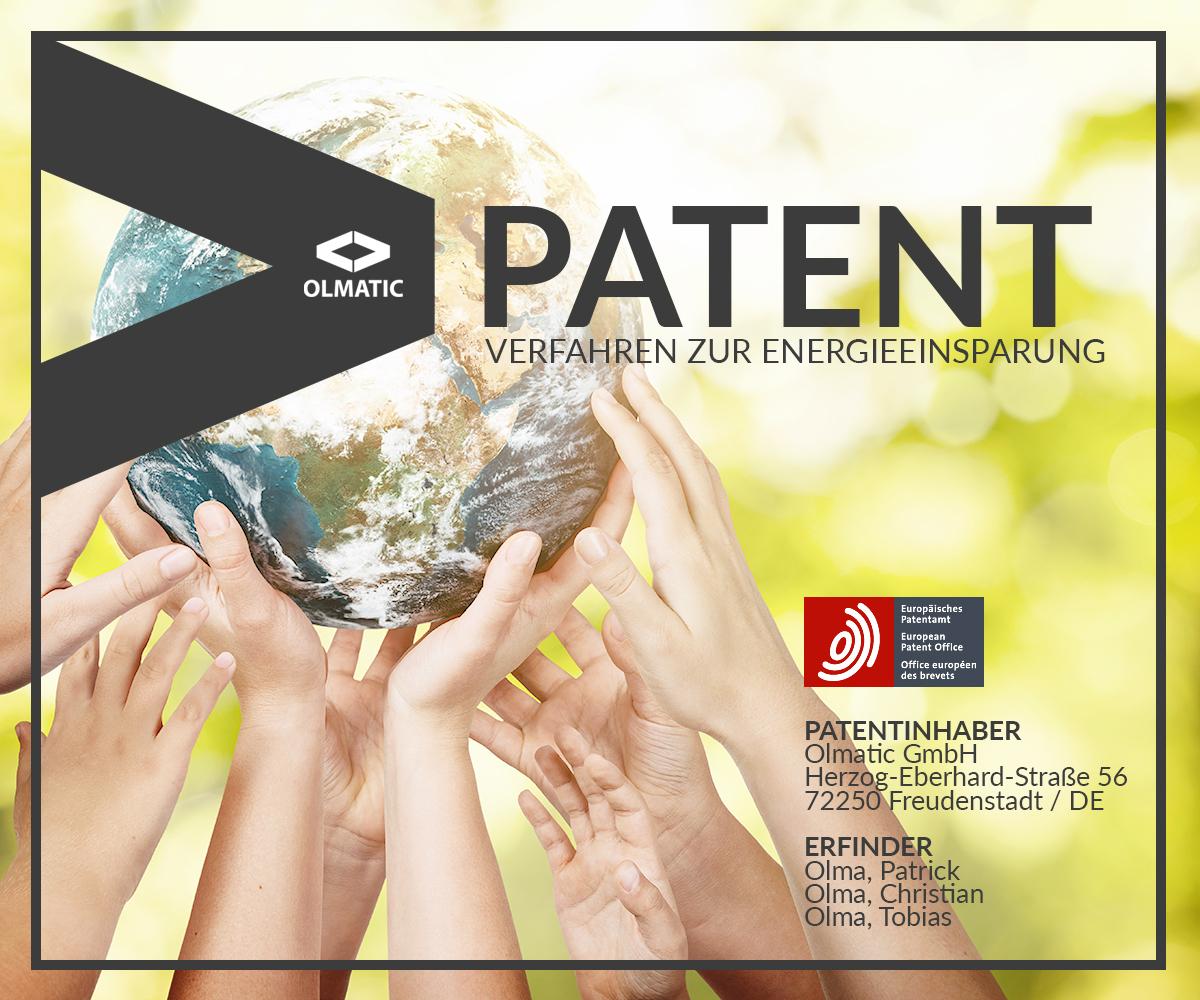 Patent eines Verfahrens zur Energieeinsparung erteilt