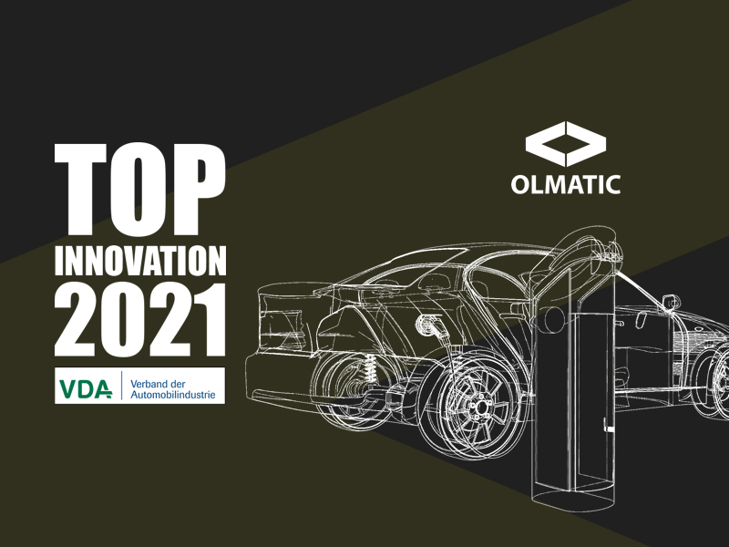 Our charging management was awarded TOP INNOVATION 2021 by the VDA.
